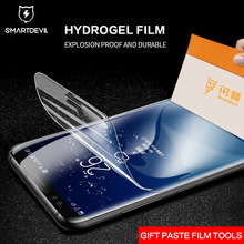 SmartDevil Hydrogel Screen Protector for Samsung Galaxy S10 9 Note 8 3D Full Cover HD Clear Tempered Glass Camera Lens Film