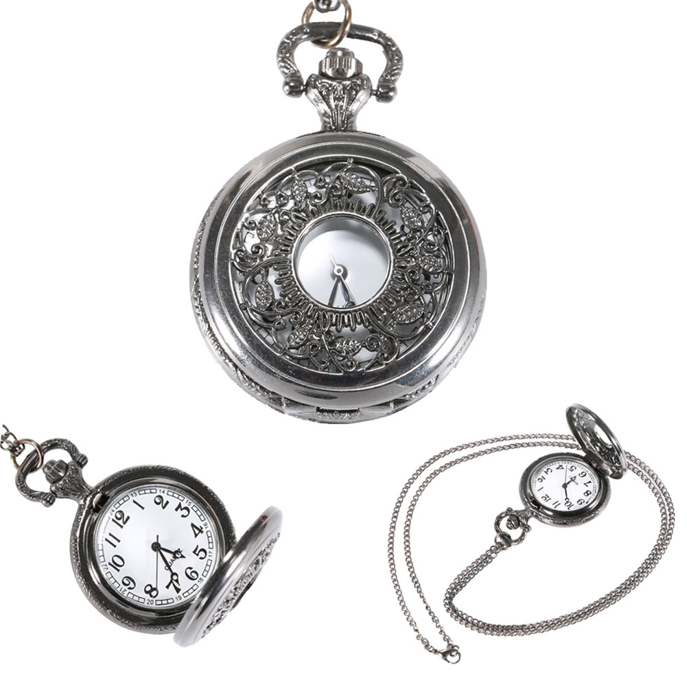 Antique Quartz Pocket Watch Fob Watches Vintage Hollow Necklace Pendant Retro Clock With Chain Gifts LXH кронштейн vitax marcos до 15кг black 309vxd