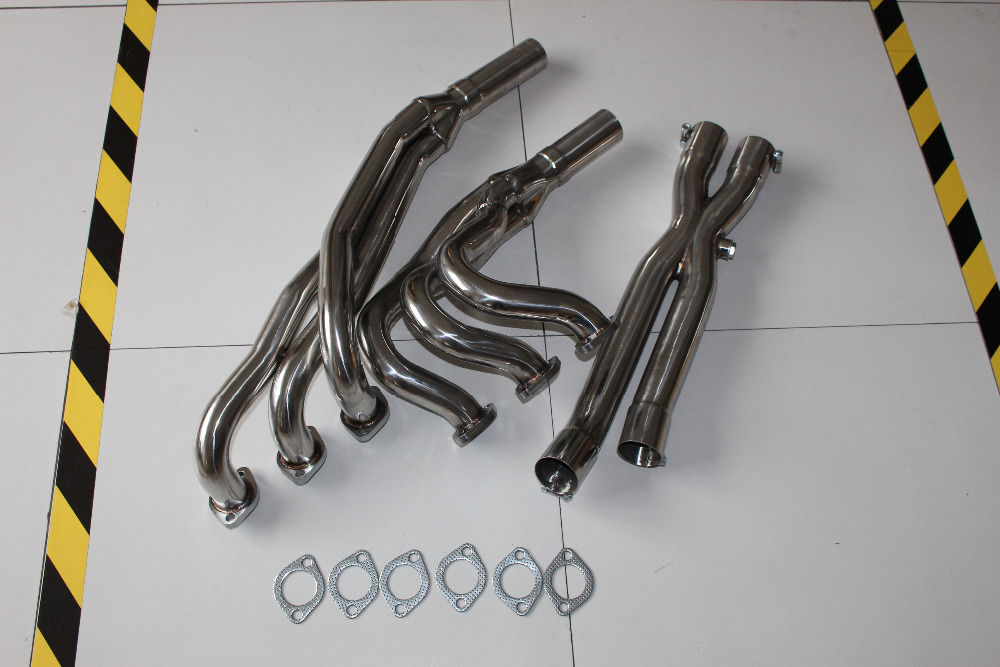 EXHAUST HEADER  E30 325 325e EXHAUST HEADER STAINLESS STEEL FULL HEADER/EXHAUST+DOWN/Y PIPE EXHAUST HEADER FOR B  M W walker 88030 exhaust y pipe