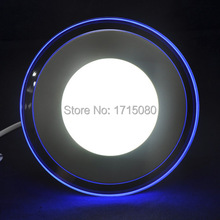 double color led panel light cool