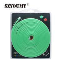 SZYOUMY 5M/Rol Flex LED Neon Light 120leds/M LED Neon Strip Light Waterproof Neon Sign 2.5CM Cuttable LED Lighting Holiday Party