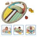 Crianças educação Aprendizagem Jogar Mat cercadinho do bebê game pad cobertor com travesseiro do bebê mordedor brinquedo Rastejando Pad cobertor seguro GYH