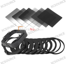 Free shipping + tracking number ND2 ND4 ND8 G.ND2 4 8 Filters + 9pcs Adapter Ring + Lens Hood & Filter holder for Cokin P