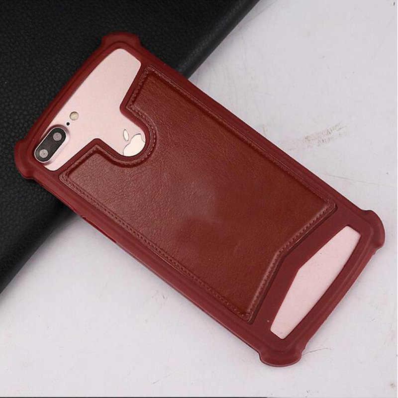 Temel Telefon PH-1 silikon kılıf Geri Deri Cilt Yumuşak TPU Telefon Koruyucu Kapak Fly Hayat Oyun/View Max