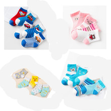 Baby Boy Socks 5 Pairs Children Autumn Winter Cartoon Socks for Girls Kids for Girls To School Sport Baby Girl Clothes 0-6Y yooap 5 pairs children autumn winter cartoon socks for girls kids for girls to school sport baby girl clothes baby boy socks