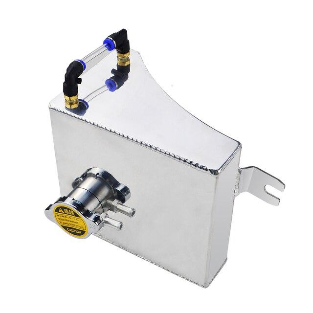 PQY-240SX S13 SR20DET KA24DE KA24E KA24, Kit de depósito de desbordamiento de refrigerante de aluminio para Nissan (Fits: 240SX) PQY-TK47