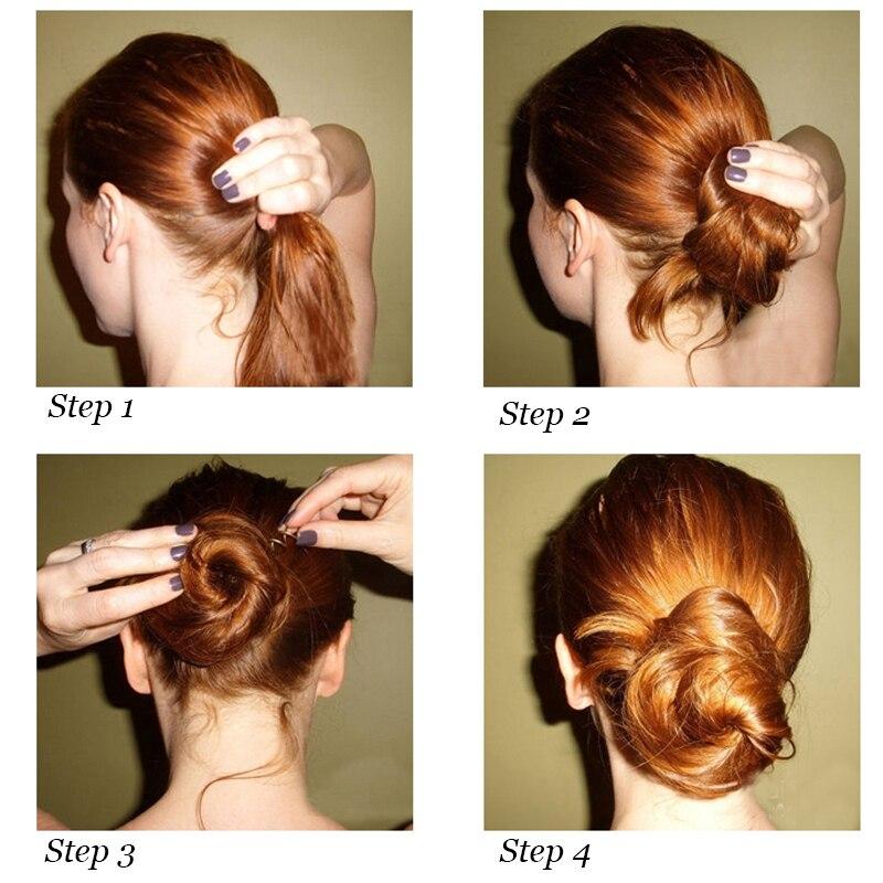 Us 145 27 Off10 Stücke Frauen Französisch Twist Braid Werkzeug Haar Flechten Einfach Haar Styling Werkzeuge Haarspange Schwarz Neue Haarnadeln