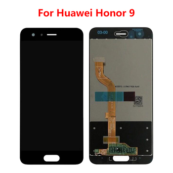 Tested For Huawei Honor 9 STF-L09 STF-AL10 STF-AL00 STF-TL10 LCD Display + Touch Screen Digitizer Assembly For Honor 9 100% фото