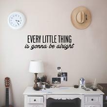 Removable every little thing Wall Sticker Wallpaper Vinyl Removable Room Decoration For Children's Room Vinyl Art Decals цена