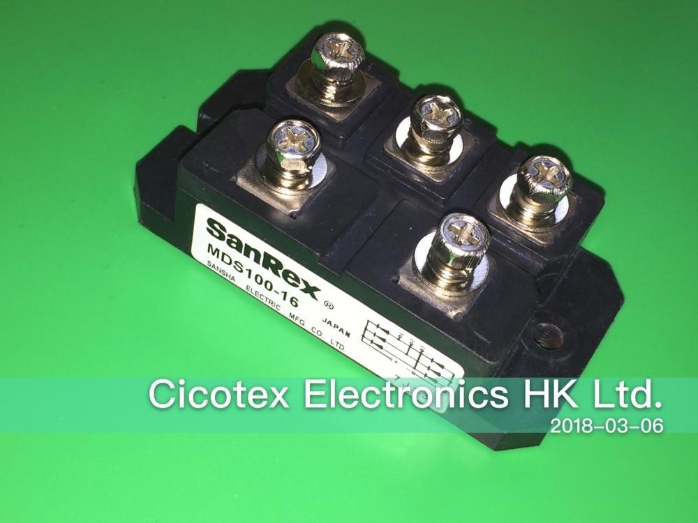 MDS100-16 IGBT Power Module MDS10016 MDS100A1600V MDS 100A 1600VMDS100-16 IGBT Power Module MDS10016 MDS100A1600V MDS 100A 1600V