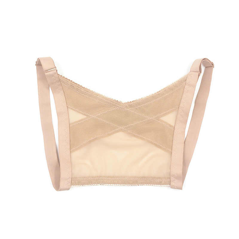1 pc feminino ajustável shapers peito corpo cinto banda postura corrector volta ombro x tipo colete protetor