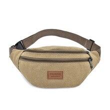 Men Waist Bag Colorful Unisex bag Belt Mobile Phone Zipper Pouch Packs Waterproof Chest Handbag Fashion For Women