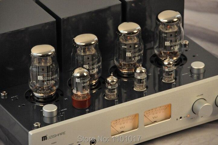 MUZISHARE Uus X7 KT88 tõmbetõmbega võimendi HIFI EXQUIS GZ34 - Kodu audio ja video - Foto 3