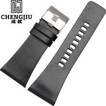 Mens Montre Bracelet Pour Diesel Véritable Bracelet En Cuir Bande de Montre Boucle Ardillon En Cuir Bracelet Correas De Reloj Para Hombres
