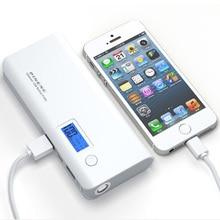 Pineng Power Bank 10000 мАч Dual USB Автомобильное Зарядное Устройство каррегадор де bateria portatil Портативное Зарядное Устройство Powerbank для iphone7 xiaomi
