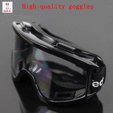 Высокое качество черные очки Анти-туман Анти-шок царапинам защитные очки движение ездить пыли работы защитные очки