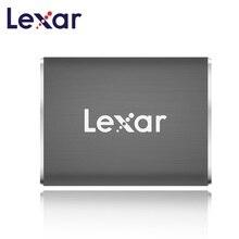 Lexar HD SSD 유형 C USB 3.1 외부 ssd 550 메가바이트/초 512 GB 휴대용 솔리드 스테이트 드라이브 Duro Externo nas 서버 외부 하드 드라이브
