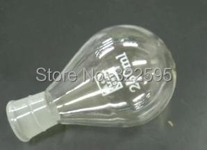 500ml Evaporating Recovery Flask Glass Lab Glassware 24#joint 500ml lab quartz glass volumetric flask with stopper