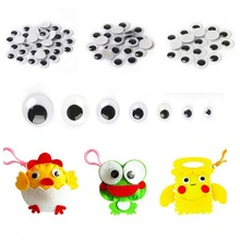 Useful Self-Adhesive Plastic Toy Eyes Set for DIY Craft