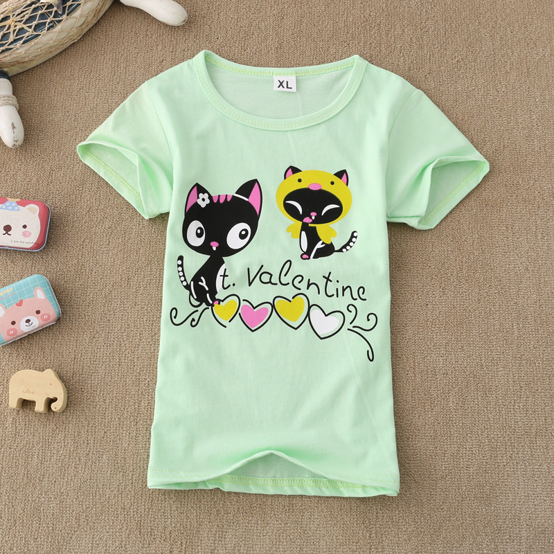 New Summer T Shirt Kids For 2 7 Years Girls Children
