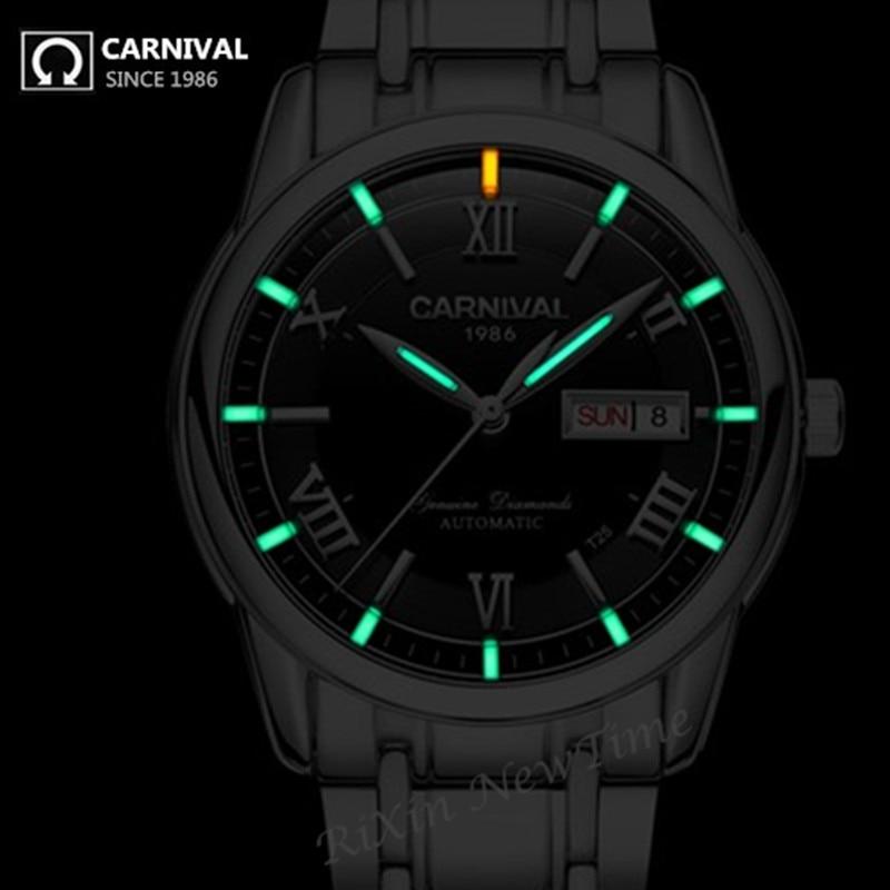 Tritium militaire T25 lumineux montre hommes marque de luxe automatique mécanique montres complet en acier étanche horloges uhren montre saphir