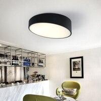Modern LED ceiling lamps office lightin creative bedroom living room white black entrance corridor balcony ceiling lights ZA