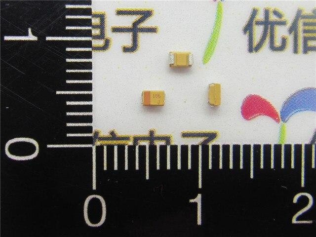 20pcs/lot High Quality SMD tantalum capacitor 10UF 0805  6.3V 10UF P type 10% tantalum capacitor 6.3V