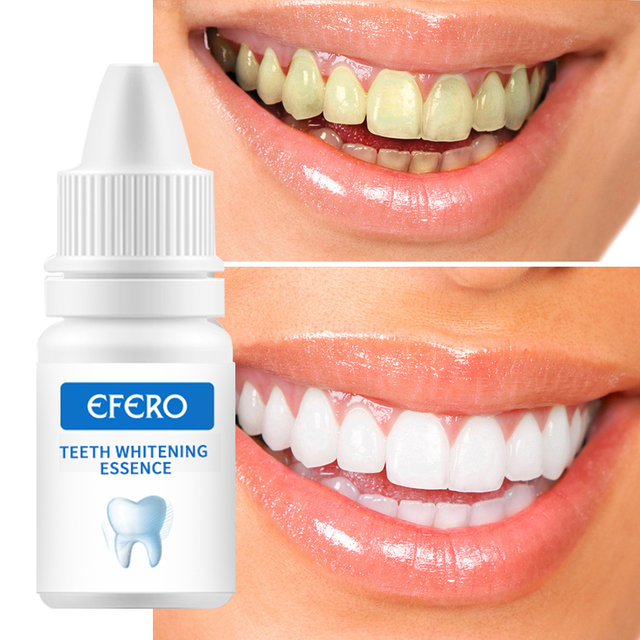 EFERO Teeth Whitening Serum Gel Dental Oral Hygiene Effective Remove Stains Plaque Teeth Cleaning Essence Dental Care Toothpaste 5