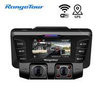 4K 2160P WiFi Car DVR Camera Dash Cam Novatek 96660 Dual Lens Double 1080P Video Recorder G sensor