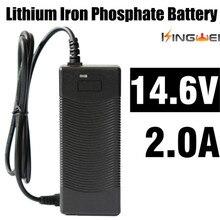 KingWei1pcs New AC 100 V 240 V Chuyển Đổi Power Adapter Sạc cho 18650 Lithium pin DC 14.6 V 2A Power Supply EU ANH MỸ Cắm DC