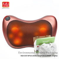 KIK NEWGAIN neck multifunction dish massager massage pillow Cushion cervical lumbar leg massager body massager shoulder 12V