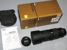 New Nikon Nikkor AF-S NIKKOR 70-200mm f/4G ED VR Lens