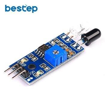 5 sztuk smart electronics samochód zdalnie sterowany odblaskowe fotoelektryczne 3pin na podczerwień czujnik unikania przeszkód moduł dla arduino