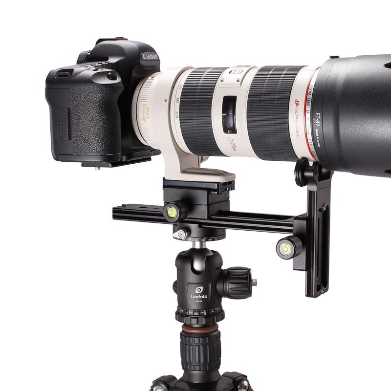 for 70-200 Telephoto lenses Lens holder Ball head tripod Quick Release Plate DSLR Camera Canon Nikon Arca RRS CNC Compatible micro camera compact telephoto camera bag black olive