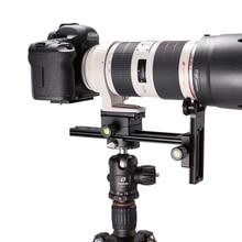 for 70-200 Telephoto lenses Lens holder Ball head tripod Quick Release Plate DSLR Camera Canon Nikon Arca RRS CNC Compatible