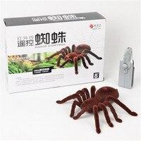 Prodotti novità raggio infrarosso Elettrico di controllo remoto di Alta simulazione ragno giocattolo modello Animale di giocattoli per bambini