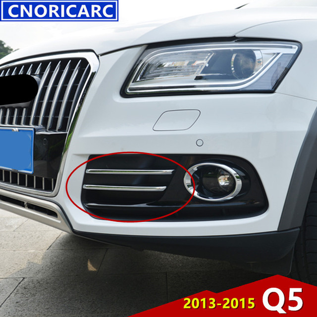 CNORICARC Chrome Front Fog Lamp Decorative Light Bar For ...