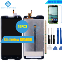 10pcs For Blackview BV5000 LCD Lcds Display Touch Screen 100 Original Screen Digitizer Assembly Replacement Tools
