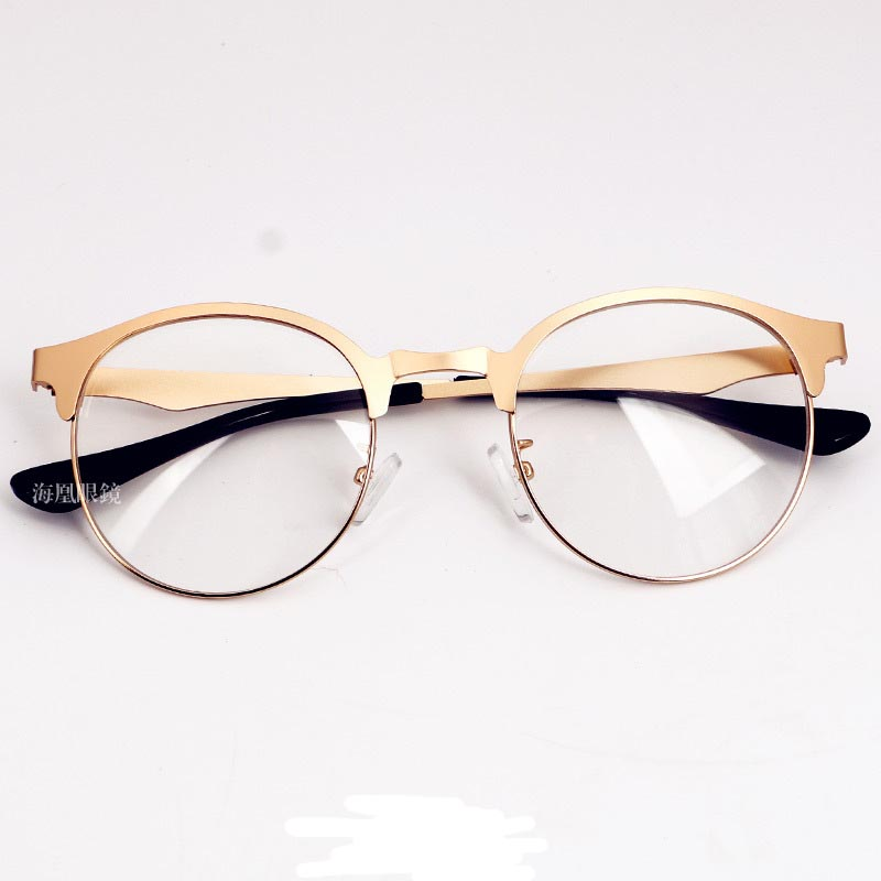 2016 New Gold Metal Frame With Clear Lens Women Amp Men