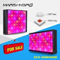 Mars hydro Led grow light ECO 300/600W  Full spectrum for indoor garden hydroponic greenhouse plants growing led lamp