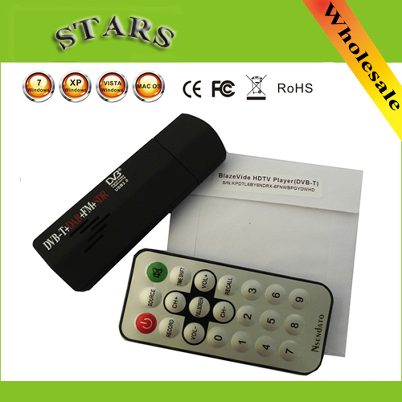 Новинка цифровая ТВ-флешка USB2.0 Mini HD FM + DAB DVB-T RTL2832U + R820T для SDR тюнер ресивер рекордер для ноутбука ПК, Прямая поставка