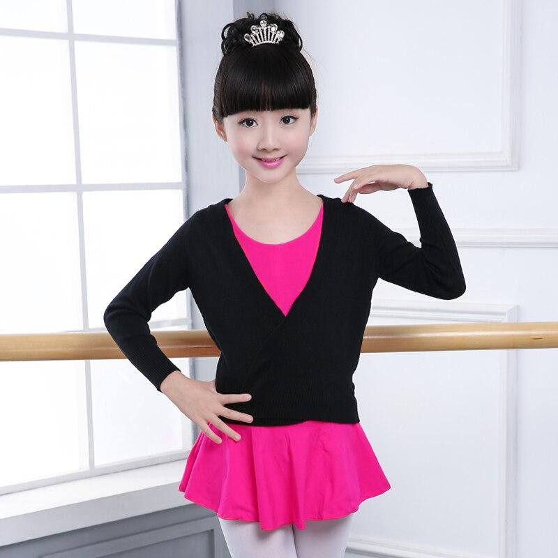 new-winter-autumn-warm-long-sleeve-waist-belt-sweater-child-girls-kids-font-b-ballet-b-font-dance-wrap-cross-tops