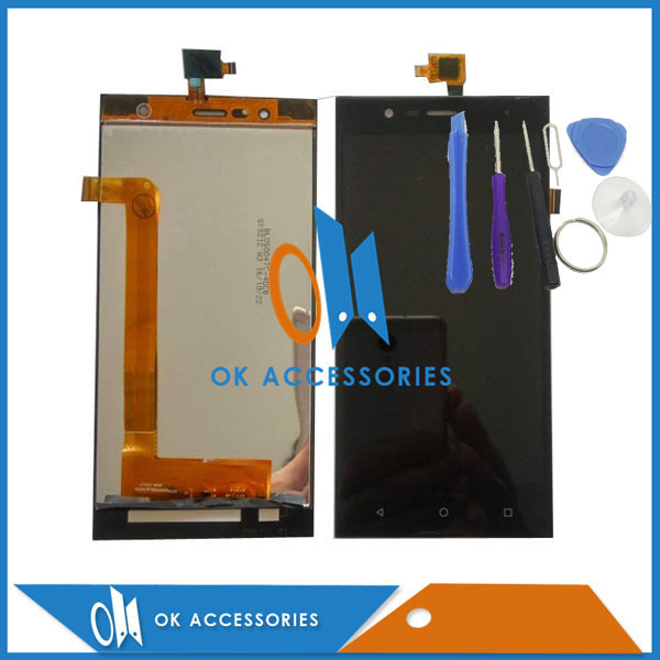For Highscreen Boost 3 Boost 3 Pro Boost 3 SE LCD Display+Touch Screen Digitizer Replacement Black Color With Tools 1PC/Lot