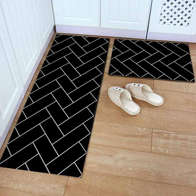 Washable Kitchen Mats with Anti Slip Bottom for Kitchen and Hallway Entrance Floor 8