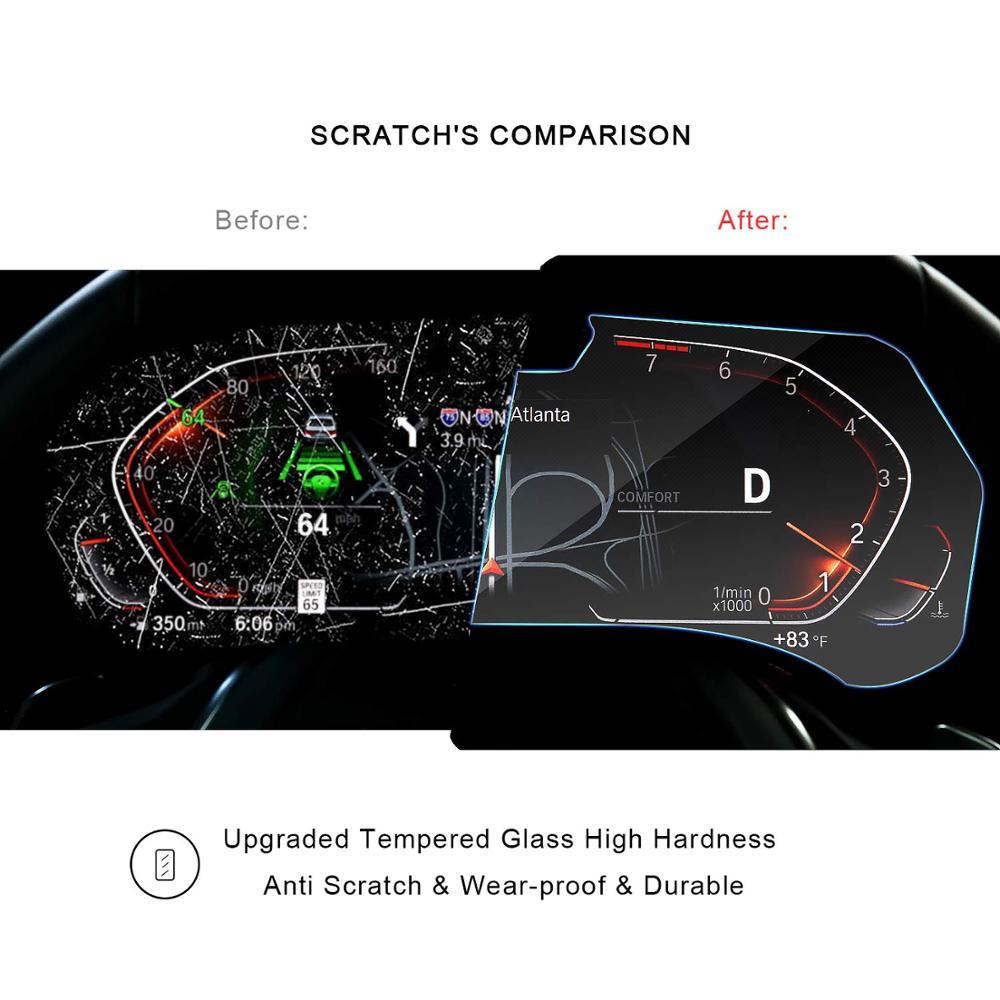 Image 5 - RUIYA Защита экрана для BMW X5 G05 ЖК дисплей экран приборной панели, 9 H Закаленное стекло протектор защита от ежедневных повреждений-in Защита экрана from Бытовая электроника on AliExpress - 11.11_Double 11_Singles' Day