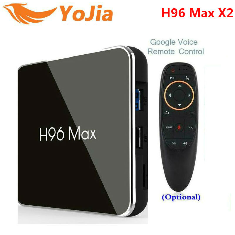 H96 Max X2 Android 8.1 4K Smart Tv Box Amlogic S905 Quad Core Wifi Media Players
