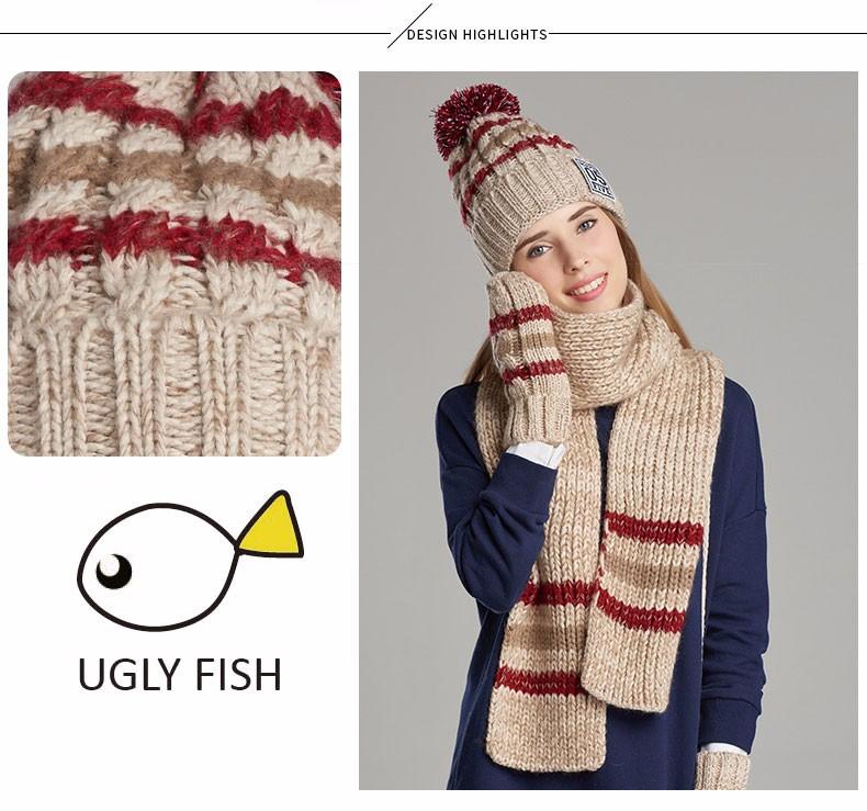 hat scarf glove set (5)