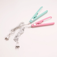 Mini Ceramic Electronic Hair Straightener Iron Chapinha Stra