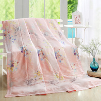 Summer Quilt 1pcs Silk 2 4KG Embroidery Quilt Children S Quilt Blanket High Quality Quilt