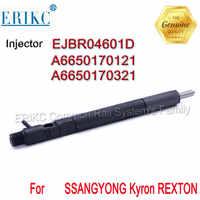 A6650170121 ERIKC EJBR04601D Diesel injecteur de carburant à rampe commune EJBR0 4601D OEM pour A6650170321 SSANGYONG Kyron REXTON 2.7 Euro 3